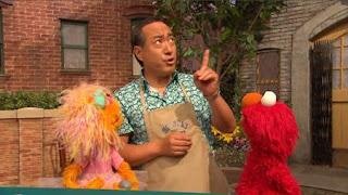Elmo, Zoe, Alan, Rocco, Sesame Street Episode 4322 Rocco's Playdate season 43
