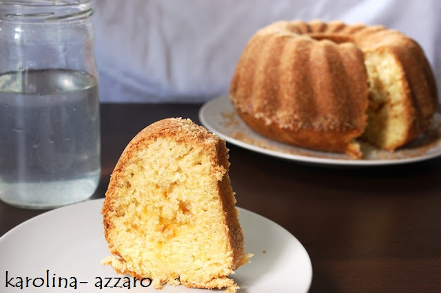 Citrónovo kokosová bábovka s cukynou