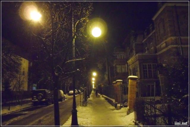 Đêm mùa đông lạnh lẽo