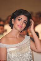 Shriya Saran in Stunning White Off Shoulder Gown at Nakshatram music launch ~  Exclusive (78).JPG