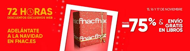 Top 10 promoción 72 horas de descuentos exclusivos web de Fnac.es