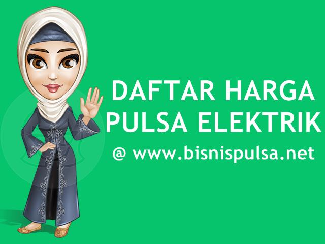 Daftar Harga Pulsa Elektrik Murah All Operator BisnisPulsa.net