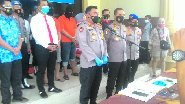 Bos Besar Baby Lopster Ilegal Ditangkap Polda Jambi