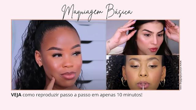 Como fazer maquiagem básica passo a passo