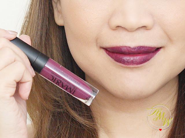 a photo of iMagic PROfessional Beauty Lipgloss Review shade 11