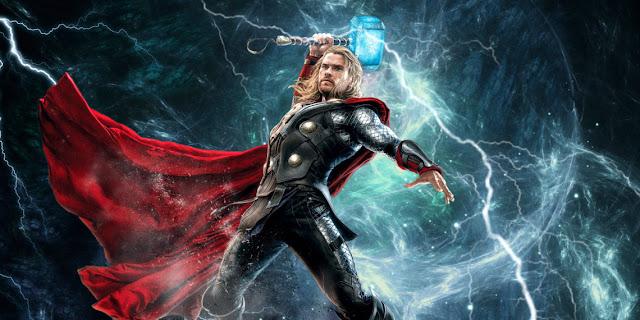 Thor representado em filme originado dos quadrinhos da Marvel