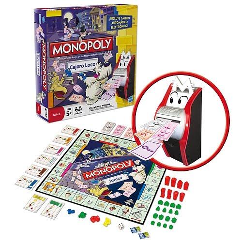 Monopoly Cajero Loco Juegos De Mesa Y De Tablero
