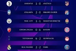 Update Hasil Liga Champions Tadi Malam
