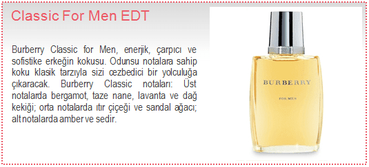 Burberry-Classic For Men EDT