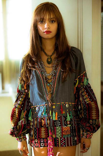 Alice looks Hippie Os dias eram assim