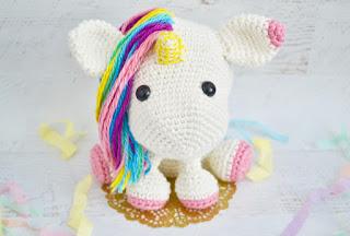 free amigurumi unicorn crochet pattern