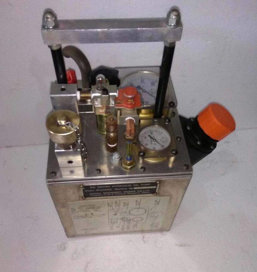 Oil Pump Mail: IDEAL DIESEL MARINE: NAGAO MACHINERY WORKS COMPANY JAPAN