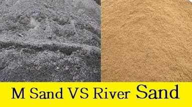 M Sand Vs River Sand - Difference Between M Sand and River Sand