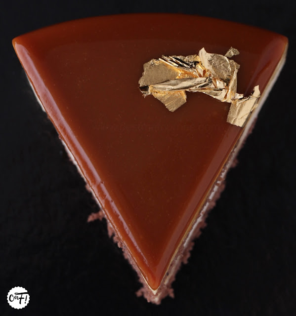 C 39 est ma fourn e le gla age miroir au caramel for Glacage miroir caramel