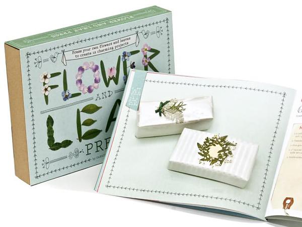 Flower and Leaf Press book by Gabriela Delworth