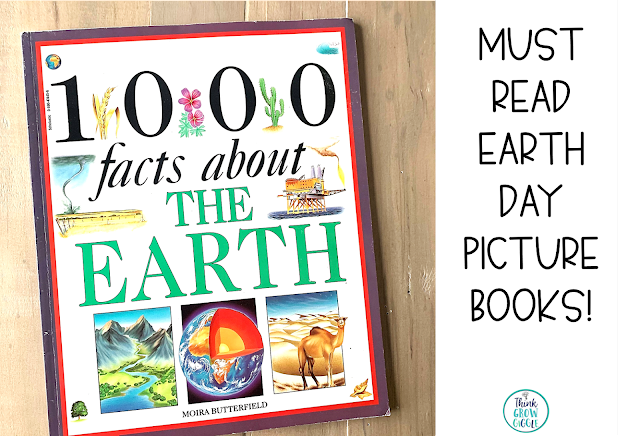 nonfiction reading activities for earth day for kids