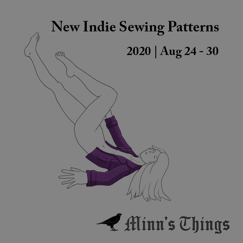 New Indie Sewing Patterns & Updates [August 24-30 2020]