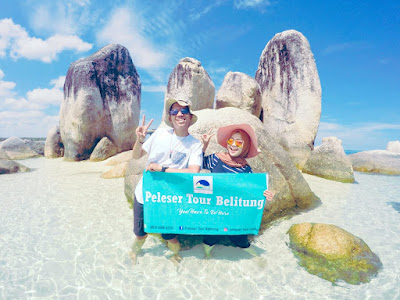 one day trip hopping island belitung