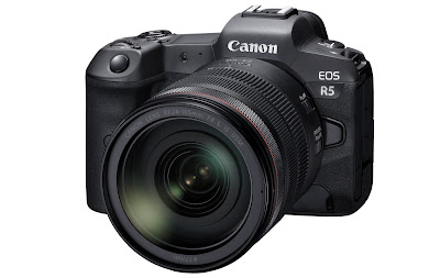 Canon reveals further EOS R5 detail