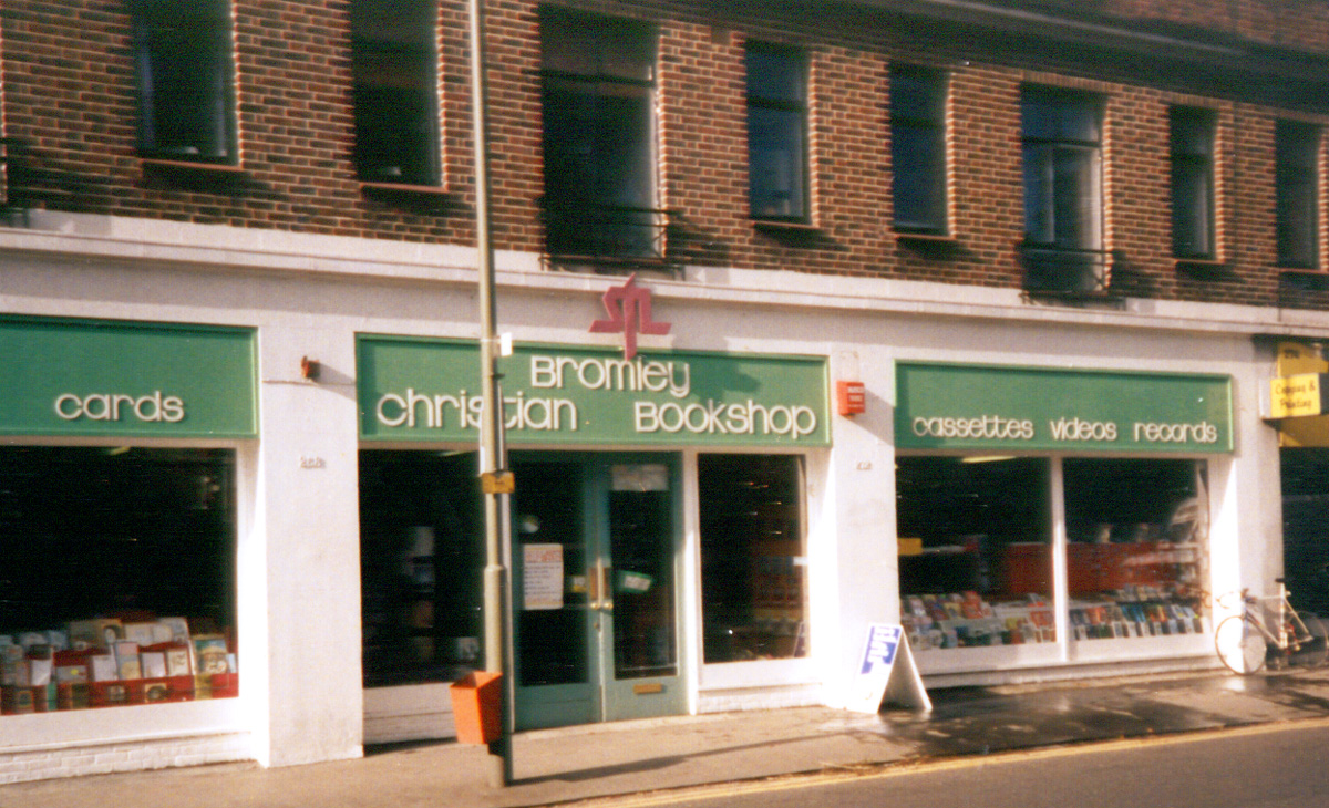 One of seven stores Dean was overseeing in the UK.- 1986-87