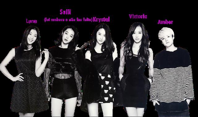 f(x) integrantes membros members amber krystal sulli luna victoria
