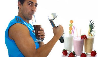 Gana músculos bajar peso batidos