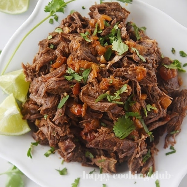 Mexican Shredded Beef Recipe