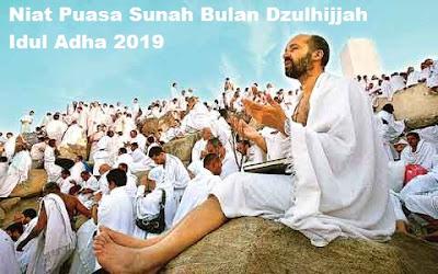 Niat Puasa Sunah Idul Adha 2019