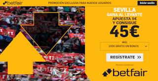 betfair supercuota liga Sevilla gana al Levante 20 octubre 2019