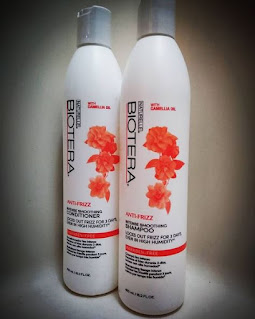 product review naturelle biotera anti frizz shampoo and conditioner