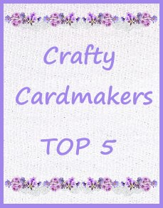 Top 5 at Crafty Card Makes Challenge