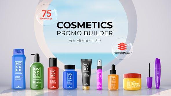 Videohive - Cosmetics Promo Builder - 27750938