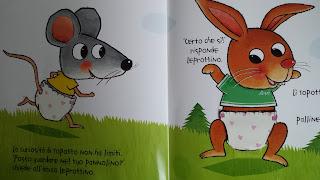 Libri per bambini con alette sullo spannolinamento dai 2 anni