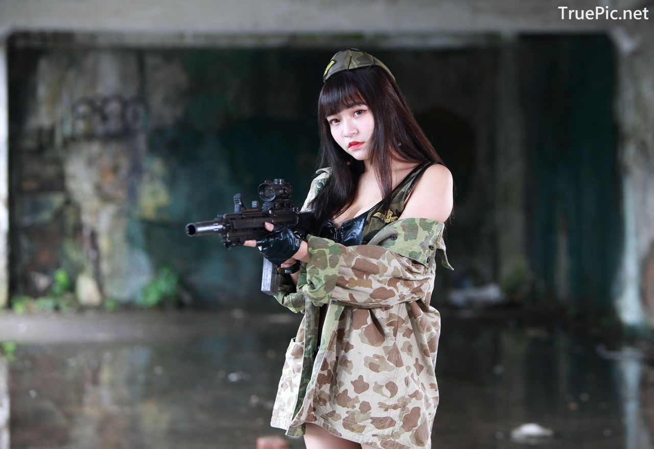 Image-Pretty-Taiwanese-Girl-林襄-Beautiful-And-Sexy-Warrior-Girl-TruePic.net- Picture-2