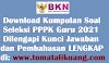 Download GRATIS Kumpulan Soal Seleksi PPPK Guru 2021 PDF + Jawaban LENGKAP!!