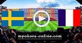 نتيجة مباراة السويد وفرنسا بث مباشر كورة اون لاين 05-09-2020 دوري الأمم الأوروبية