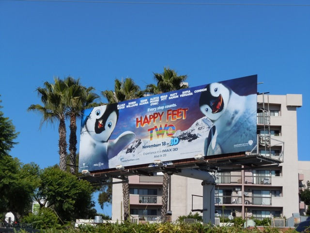 Happy Feet Two billboard