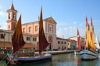 Il Porto Canale di Cesenatico Leonardesco