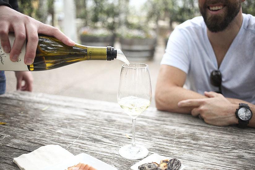 Wine Tasting at Quivira Vineyards