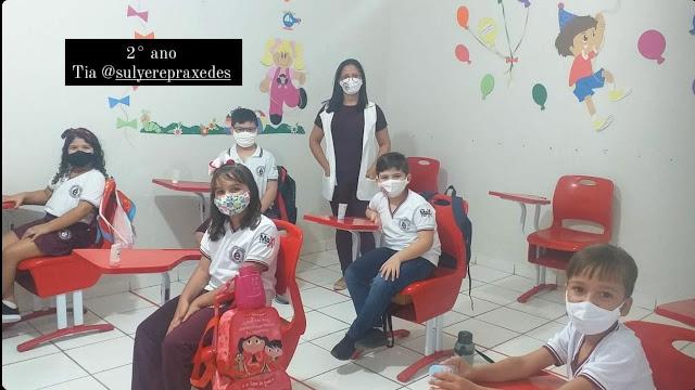 Educandário Êxito em Caraúbas tem início de ano letivo nesta quinta-feira