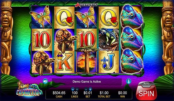 Main Gratis Slot Indonesia - King Chameleon Ainsworth
