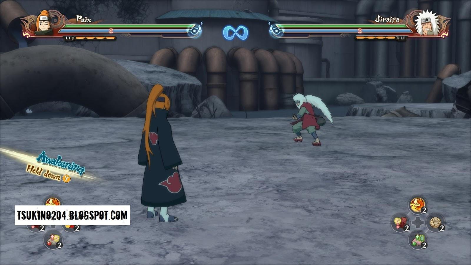 Pain Animal Path Storm 2 + Moveset : Naruto Storm 4 MOD PC
