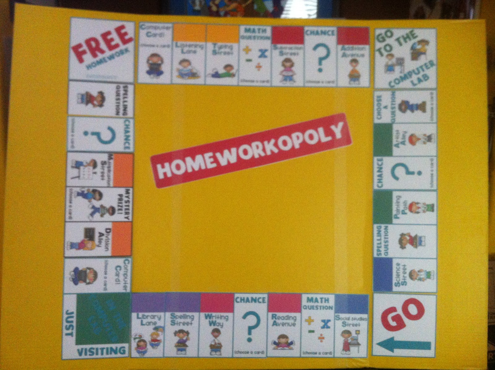 Mr. B's Class Page : The Living Constitution Board Game ...