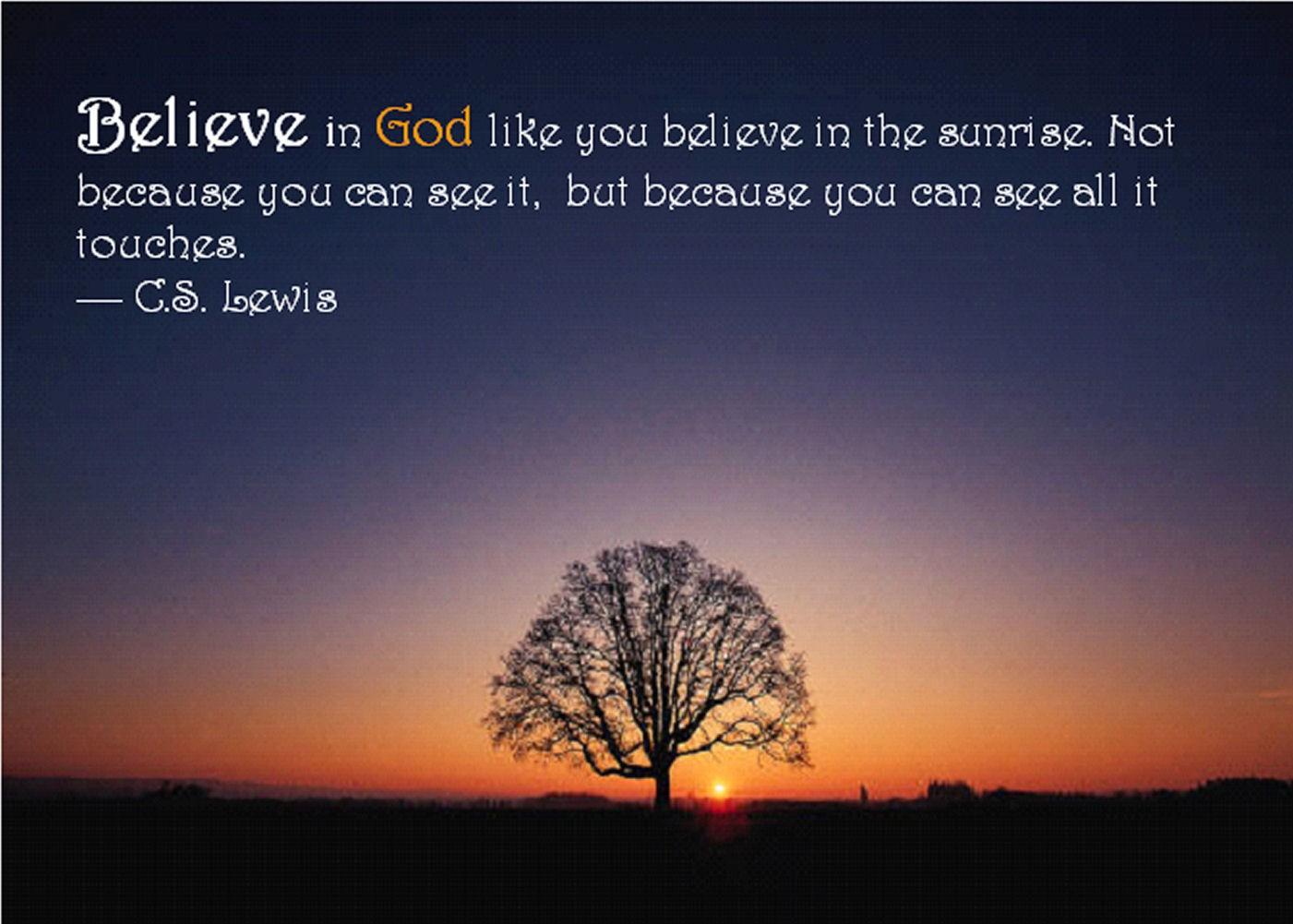 STEP6: Believe in God (Love)