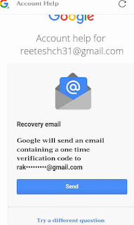 Google account me recovery email set kaise kare 6