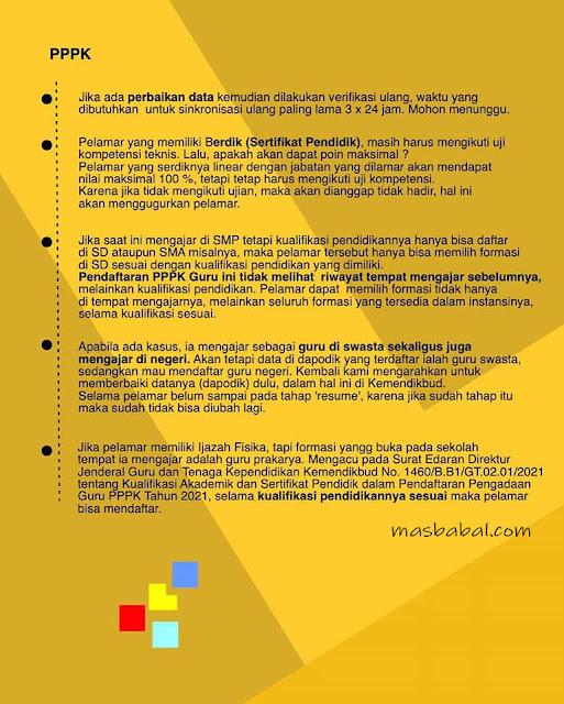 Pertayaan Pendaftaran PPPK Guru. Pertanyaan seputar PPPK Guru, CPNS 2021