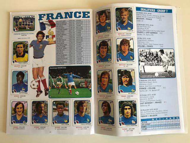 Figurine Francia Euro 76