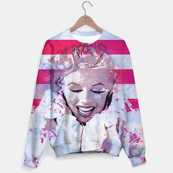 marilyn monroe pop art portrait, graphic tshirts and sweaters