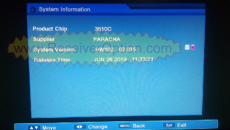 ALI3510C HW102 02 015 HD RECEIVER TEN SPORTS NEW SOFTWARE