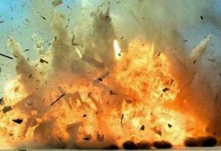 Ledakan Beruntun di Rumah Terduga Teroris